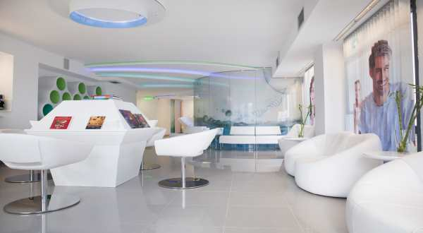 Embryolab IVF Greece waiting area