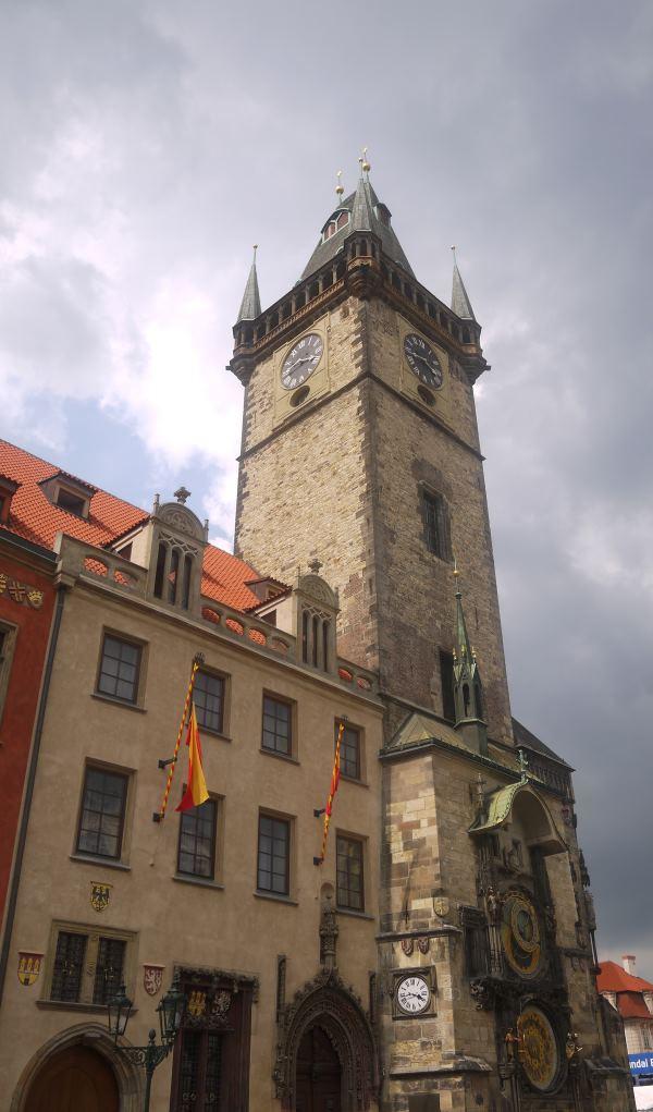 IVF Prague and clock