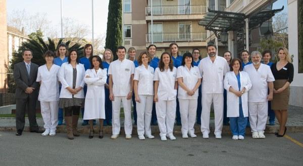 Barcelona IVF team photo