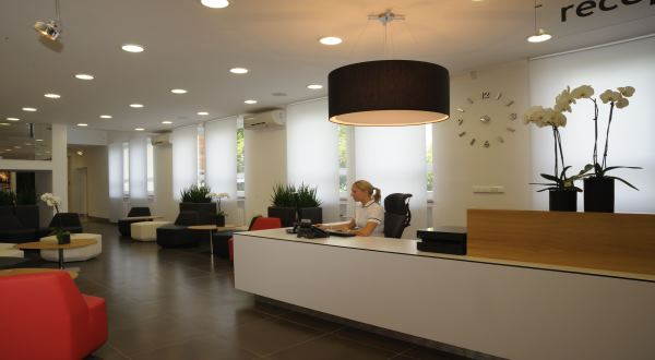 Reception desk ivf ZLIN