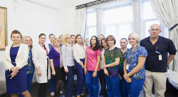 Next Generation Russia IVF staff