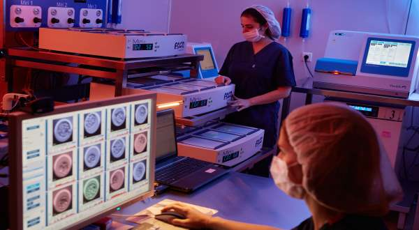 Anatolia IVF Center Turkey laboratory
