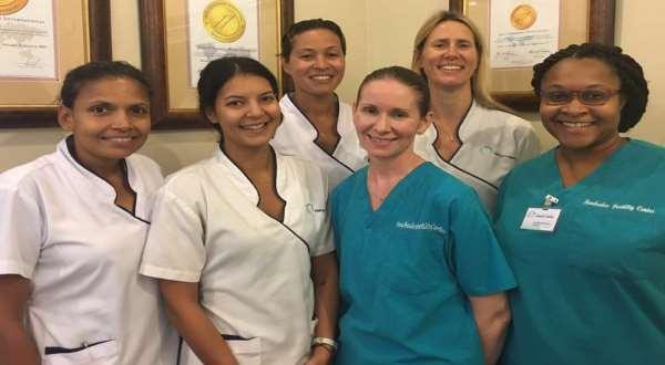 Barbados fertility staff