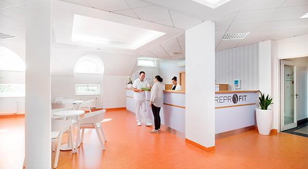 Reprofit IVF reception