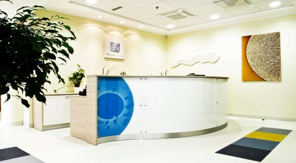 NOVA VIta ivf clinic RECEPTION