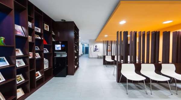 Gyncentrum IVF waiting room