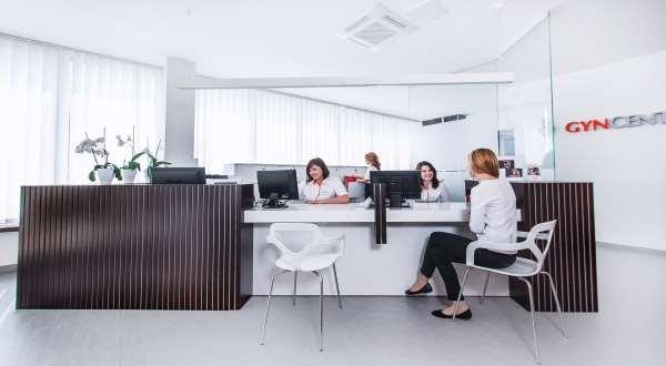 Gyncentrum IVF reception