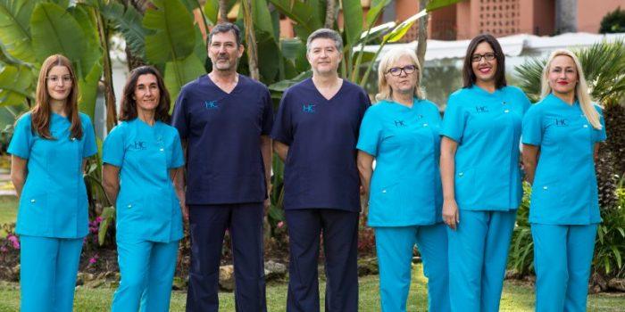 HC Fertility Marbella team