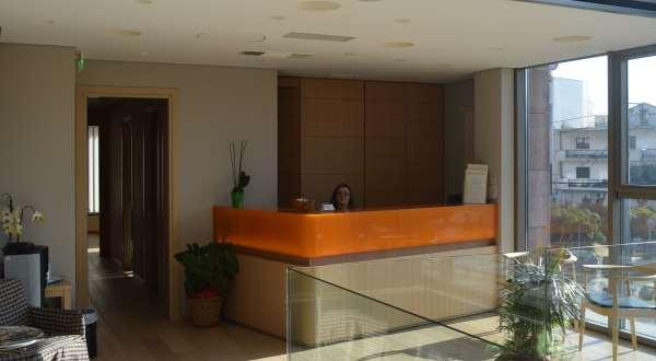 maternity health IVF clinic Greece reception