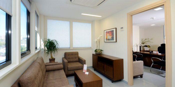 waiting room at newlife IVF Greece