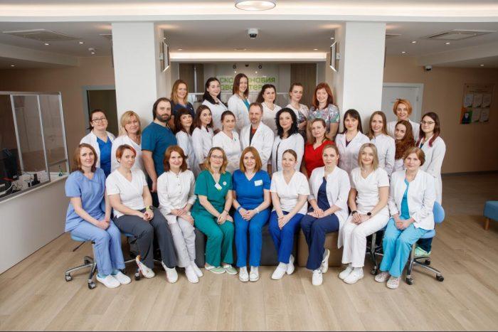 Clinic team at Scandinavia AVA Peter