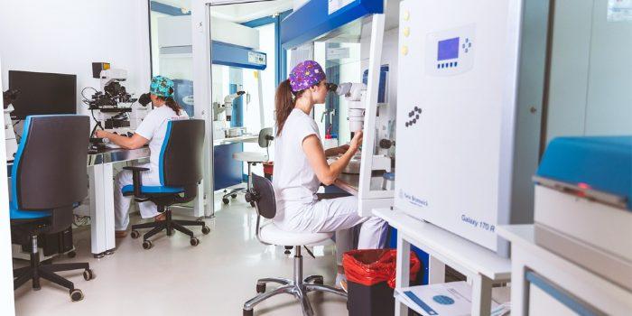 IVF laboratory at Europe IVF