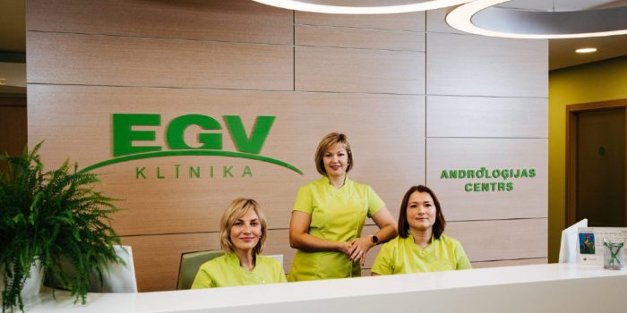 Reception at EGV clinic