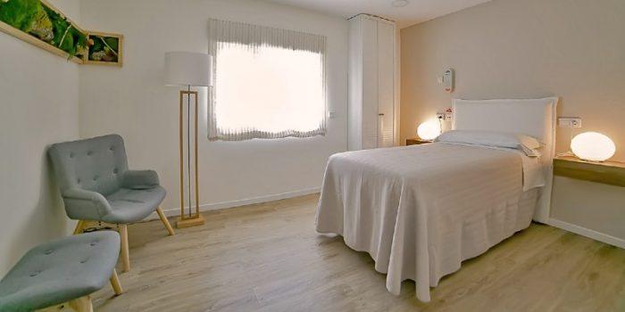 Patient room at Tambre