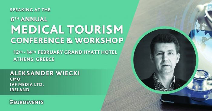 Medical Tourism Conference & Workshop 2020 – Athens, Aleksander Wiecki