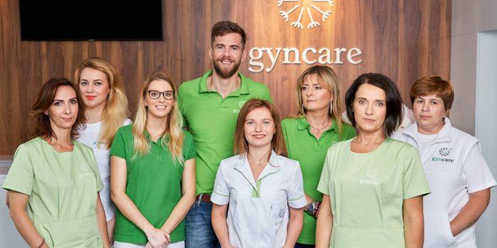 Staff at Gyncare Slovakia