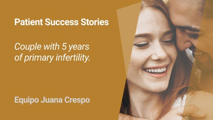 An inspiring IVF success story of a couple who had a history of 5-year infertility and multiple failed embryo transfers - read the story