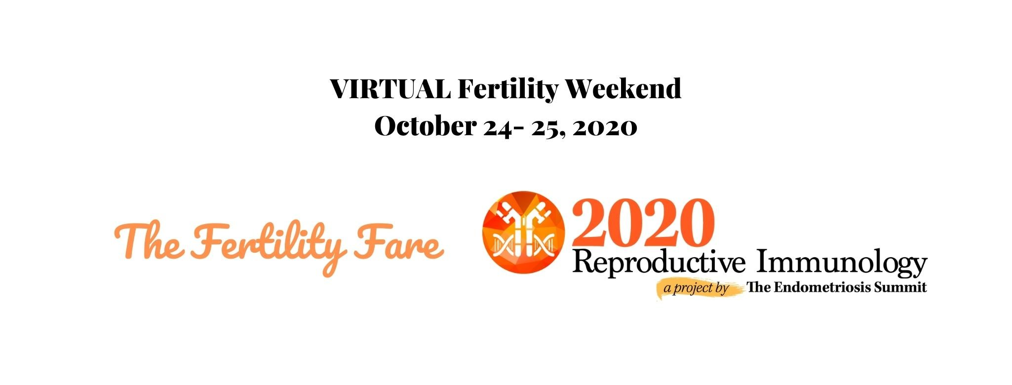 Virtual Fertility Weekend October 2020