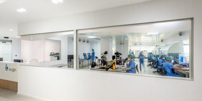 IVF lab at Eugin